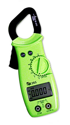 digital, clamp-on, meters, current, electrical, commercial, HVAC/R, industrial, process control