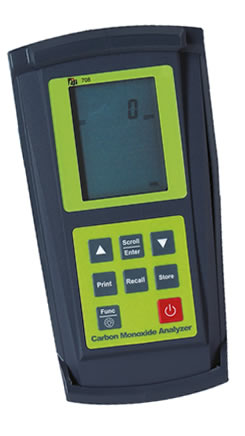 Combustion, Efficiency, Analyzers, Flue Gas, TPI, Test Products International
